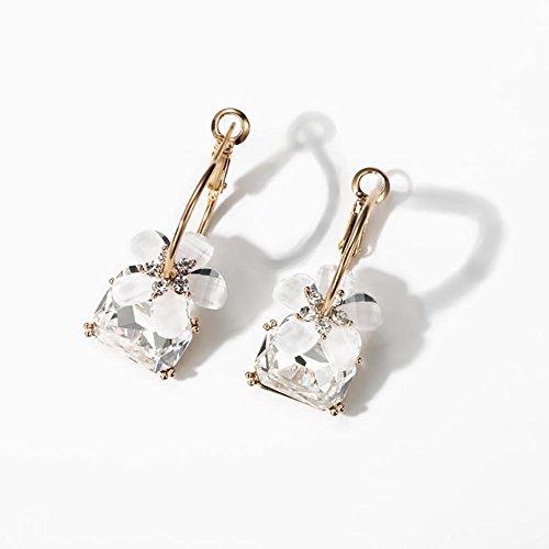 Boucles d'oreilles Daisy Flower, boucles d'oreilles tempérament Sweet Diamond pour femme