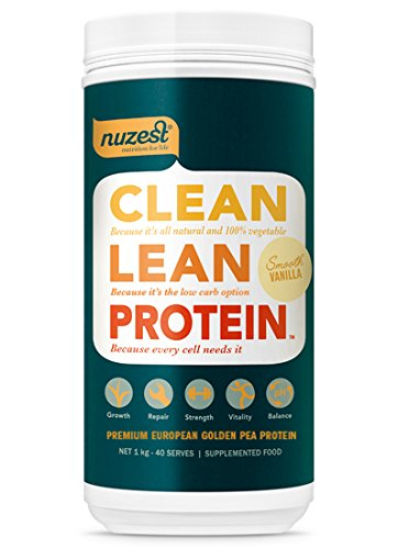 Clean Lean Protein Smooth Vanilla 40 Serve - 1kg (Textur Pflanzlichen Proteinen)