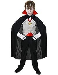 Dracula Vampir-Kostüm für Kinder - Halloween-Kostüm