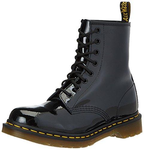 Dr. Martens Damen 1460 Patent-11821011 Boots, Schwarz, 38 EU (5 Damen UK) (Eye Martens 5)