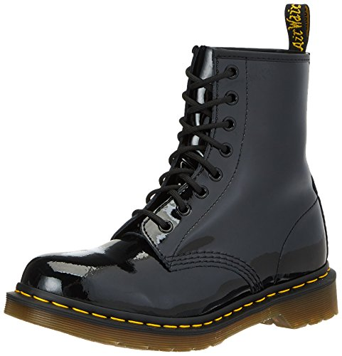 Dr. Marten's Original 1460 Patent, Women's Boots, Black, 6 UK