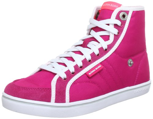 Björn Borg Footwear LLOYD MID NYL 1311 091520, Damen Sneaker, Pink (FUCHSIA-NEON CORAL 5648), EU 40 (Borg Schuhe)