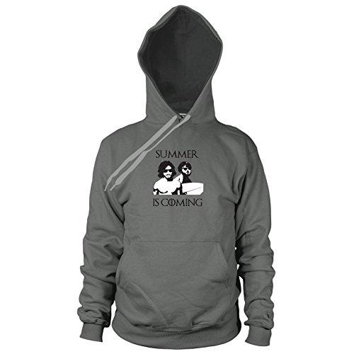 Planet Nerd GoT: Summer is Coming - Herren Hooded Sweater, Größe: S, Farbe: ()