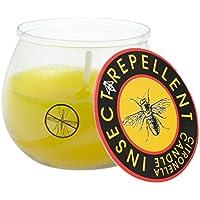Velas de Cera Anti-Mosquitos-Cerabella perfumadas citronella-Vela Vaso antimosquitos (antimosquitos-citronella)- (MDOP20 cm:6x5,5)