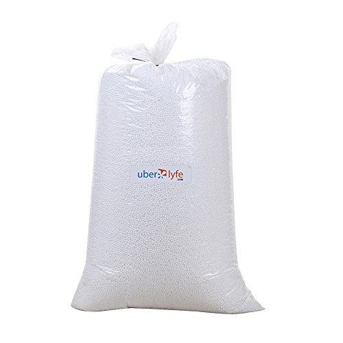 Introductory Offer - Uberlyfe Bean Bag Refill, @ 0.500 kg - Prime Delivery  available at amazon for Rs.350