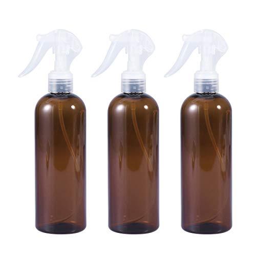 Frcolor Vaporisateur rechargeable de jet de brume de l'eau 300ml rechargeable de jet de cheveux pour le salon (brun)