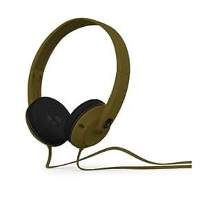 Skullcandy S5URDY-237 Uprock Supreme Sound On-Ear Headphone with Mic (Army Green)