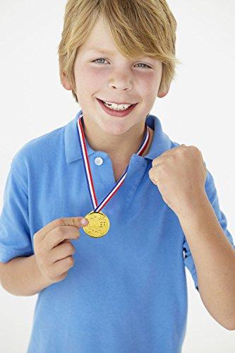 Zoom IMG-3 pllieay 72 pezzi medaglie oro