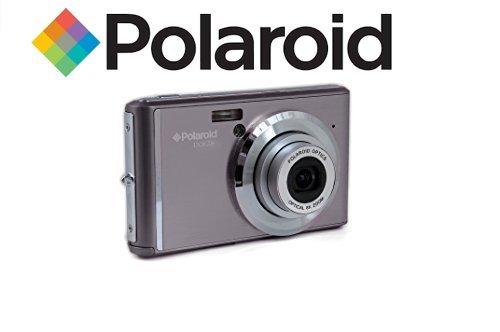 Polaroid IX828 cámara digital 20 megapíxeles, zoom óptico de 8x, 20MP, batería de litio, cámaras digitales mejores compras fácil de usar, ideal para niños o adultos (Gris)