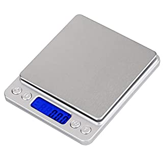 Digital Scales - Xiancai Digital Pocket Scale 500 x 0.01g with Back-lit LCD Display, Jewelry Scales, Batteries Included