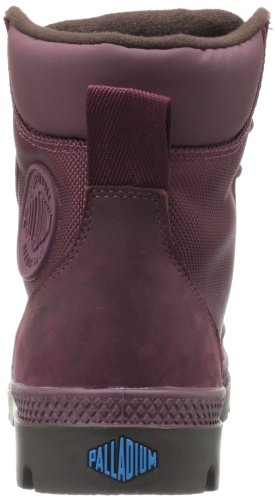 Palladium Pampa Sport Cuff WP2 93087-057-M Damen Desert Boots Rot (Windsor Wine/Chocolate)