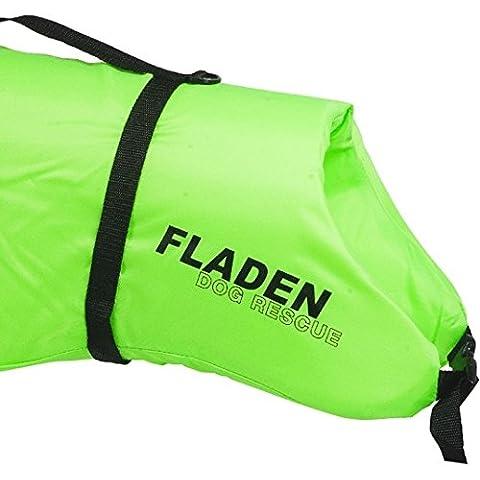 FLADEN-Vizibility sistema di salvataggio galleggiante-Guinzaglio per cani con anelli a D, fissaggio e maniglia, adatto per la maggior parte delle sale e ambienti D'acqua dolce