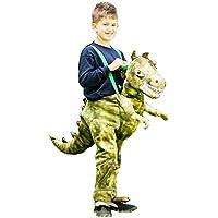 Travis designs Childs Ride On Dinosaur Fancy Dress Boys Girls Animal Step In Party Costume