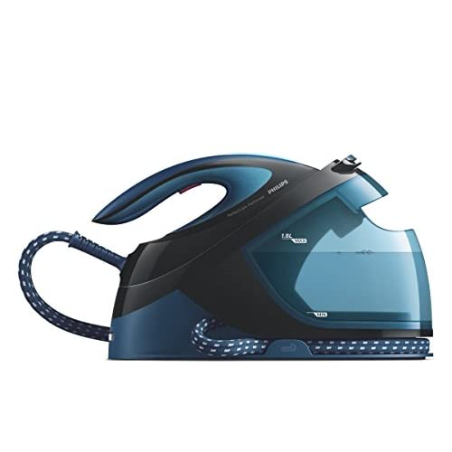Philips GC8735/80 Perfect Care Performer Steam Generator Iron, 1.8 Litre, 2600 W, 6.5 Bar, Blue