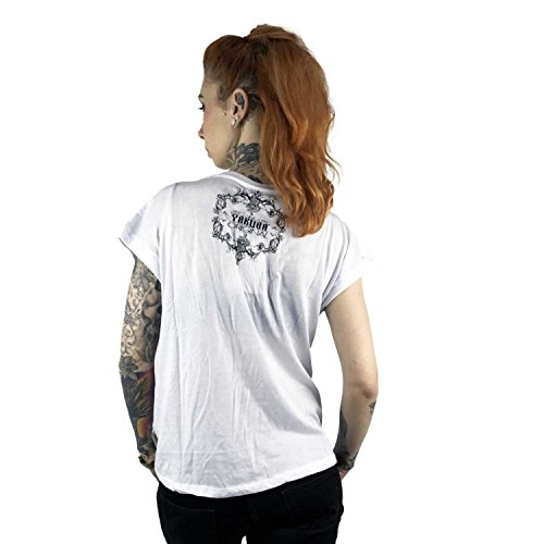 Yakuza Original Damen Siren Knot Shirt Weiß