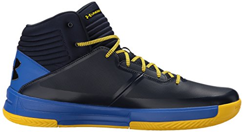 Under Armour Herren UA Lockdown 2 Basketballschuhe Blau (Cadet)