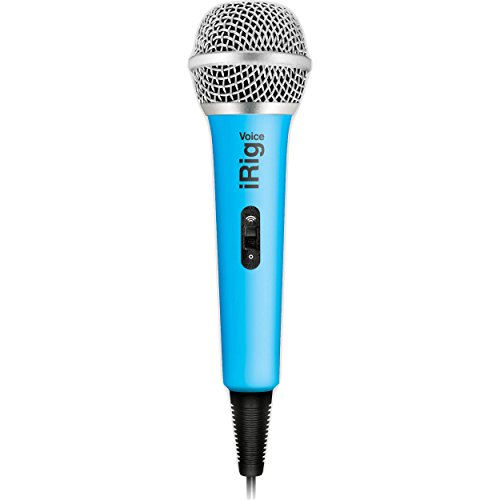 IK Multimedia 03-90042 iRig Voice Mikrofon für iOS/Android blau (Multimedia Ik Android)