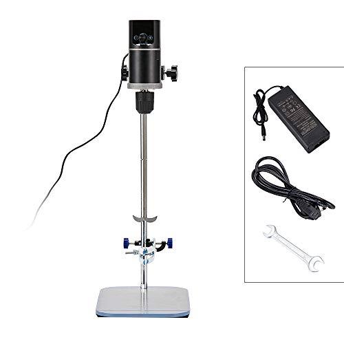 Kacsoo Labor Elektrische Rührwerk Elektromixer Professionelle Lab Mixer Digitalanzeige Rührer 60L 50000 mPas 100-2000 RPM 100-240 V