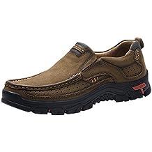 Zapatos para Hombre EUZeo Rebajas,Mocasines Casuales Transpirable Zapatos de Oxford Business Formales Tallas Grandes