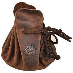Greenburry Vintage Monedero piel 7,5 cm marrón