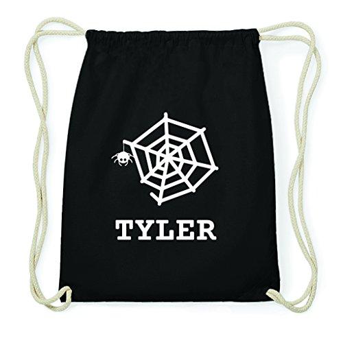 JOllify Turnbeutel Halloween für Tyler - Spinnennetz