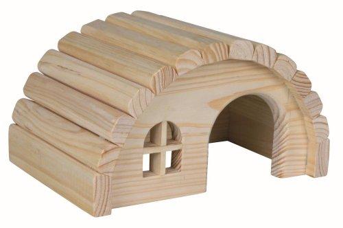 Cabine de maison de Nissan en bois pour hamsters ou gerbilles
