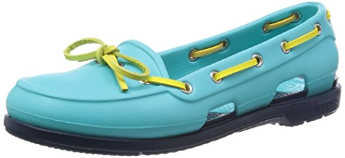 CrocsBeach Line - Mocassini donna Blu (Pool/Navy)