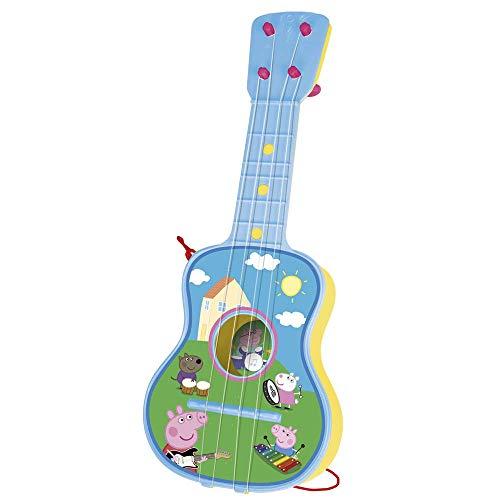 REIG Musicales 2339 REIG Peppa Saite-Gitarre, Modell und farblich sortiert