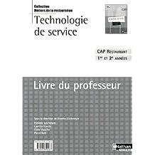 Technologie de service - CAP Restaurant