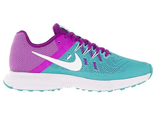 Nike Wmns Zoom Winflo 2, Scarpe da Corsa Donna Blu (Azul (Gamma Blue / White-Hyper Violet))