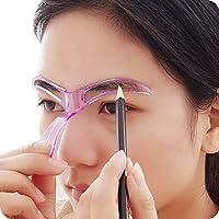 RoadRomao Plantilla para Cejas Plantilla Aseo Ayuda para moldear Herramienta de Bricolaje Belleza Maquillaje DIY