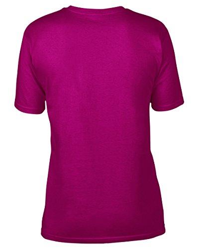 anvil Herren Organic Cotton T-Shirt / 420 Himbeere