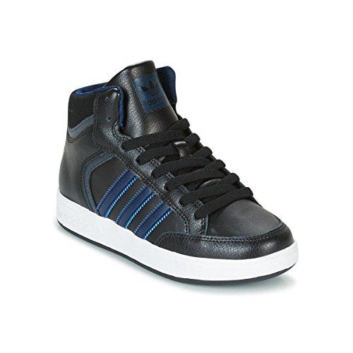 adidas Unisex-Kinder Varial Mid J Skateboardschuhe, Mehrfarbig (Negbas/Maruni/Grpudg), 31 EU