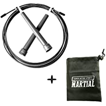 Springseil Speed - Perfekt Für Crossfit, Double Unders, MMA, Training, Fitness Workout, Freeletics, Rope Skipping, Box