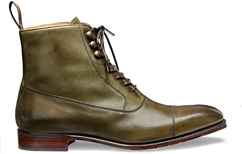 Joseph Cheaney  Sons Brixworth Balmoral Boot in Brünierter Olive KalbslederJoseph Cheaney Sons Brünierter Kalbsleder