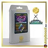 LATIAS 107/168 Prisma Holo - #myboost X Sonne & Mond 7 Sturm am Firmament - Box mit 10 Deutschen Pokémon-Karten
