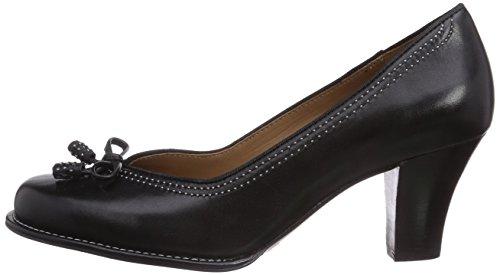 Clarks Bombay Lights Black Leather, Schuhe, Absatzschuhe, Pumps, Grau, Schwarz, Female, 36
