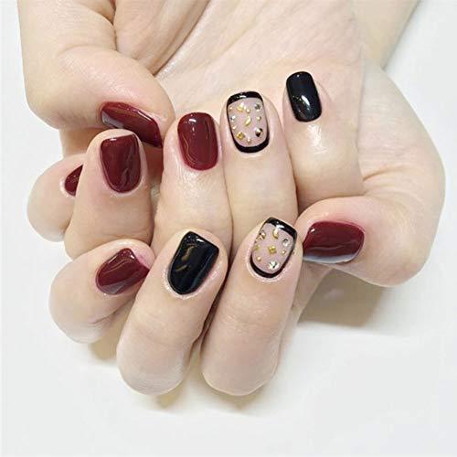 - Schwarz Gefälschte Nägel