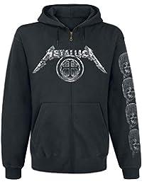 Metallica Shirt Zippé Générique Sweat Noir Templar À Capuche Uw4dqzFx