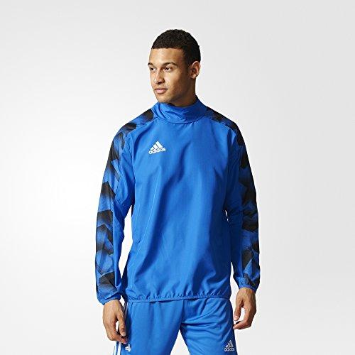 adidas Herren Tanc Wov Piste Trainingsanzug Blau (AZUL)
