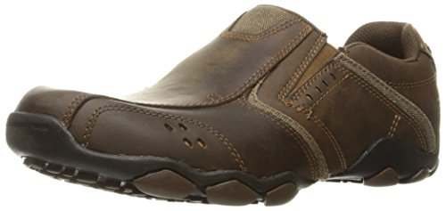Skechers Diameter Valen Mens Lightweight Slip On Shoes 11 CDB Brown
