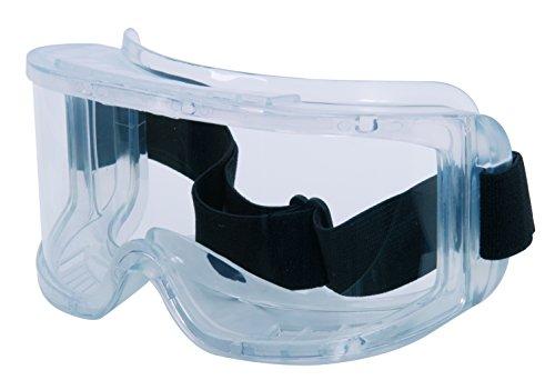 CXS Schutzbrille mit 180° Panoramablickfeld - Unisex Arbeitsschutzbrille mit Antikratz und...
