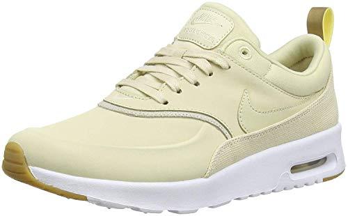 Nike Damen Air Max Thea Premium Sneaker, Beige (Beige/Braun Beige/Braun), 38 - Nike Sneaker Thea Max Air