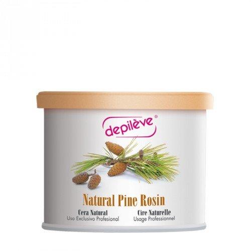 Depileve Naural Pine Rosin, Natürliches Pinien Wachs, für ein professionelles Waxing, Haarentfernung, 400 Gramm