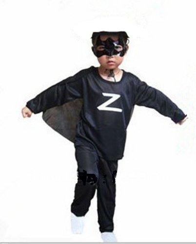 Costume bambino zorro taglia m (100-115) cm