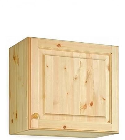 Pensile cucina da L60 H54 in legno massello di pino di Svezia ...