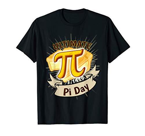 Lustiges PI Pastete Auflauf Pie Wissenschaft Mathe Algebra  T-Shirt Kuchen-auflauf