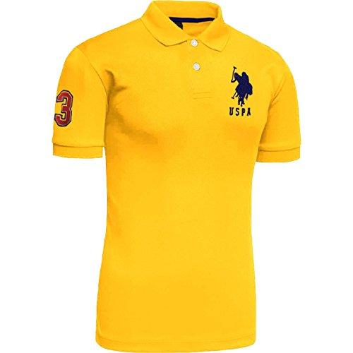 Mens Us Polo Assn Short Sleeve Polo Shirt | Top