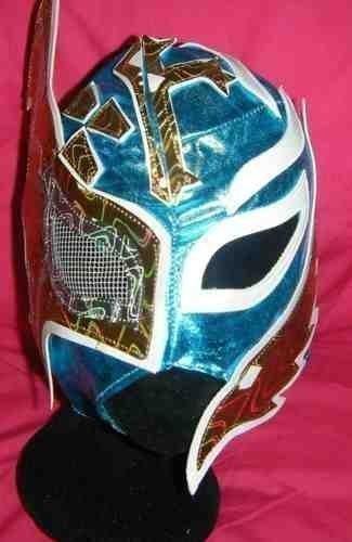 (Erwachsene Ringen Maske Kostüm Kostüm Outfit Maske Wrestler Rey mysterio Sin Cara Kostüm Kostüm Outfit)