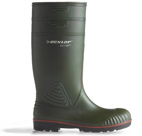 Dunlop Unisex Acifort Heavy Duty Full Safety Wellington Boot